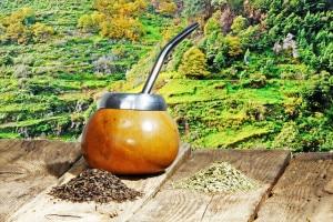 Die Kalebasse wird ursprünglich aus einem ausgehöhlten und getrockneten Stielende eines Flaschenkürbisses hergestellt. Foto: djd/Teaworld