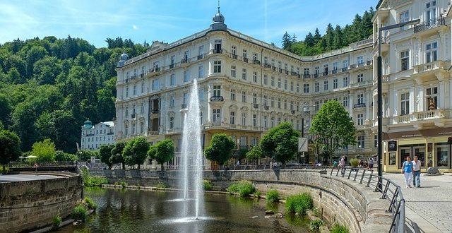 Karlsbad ist ein bekannter Kurort in Tschechien.